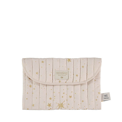 Nobodinoz Bagatelle Pouch – Gold Stella / Dream Pink