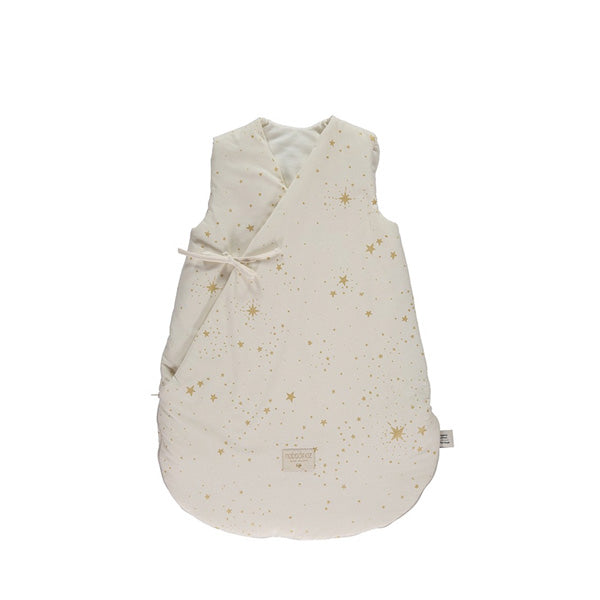 Nobodinoz Cloud Sleeping Bag – Gold Stella / Natural