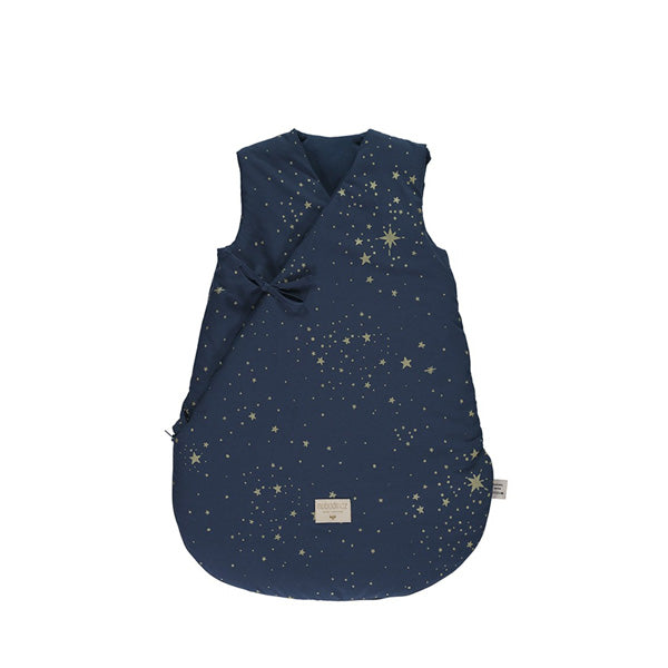 Nobodinoz Cloud Sleeping Bag - Gold Stella / Night Blue