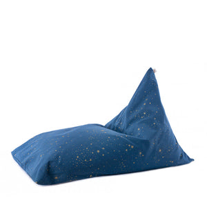Nobodinoz Beanbag Essaouira - Gold Stella / Night Blue