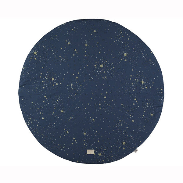Nobodinoz Full Moon Play Mat – Gold Stella / Night Blue