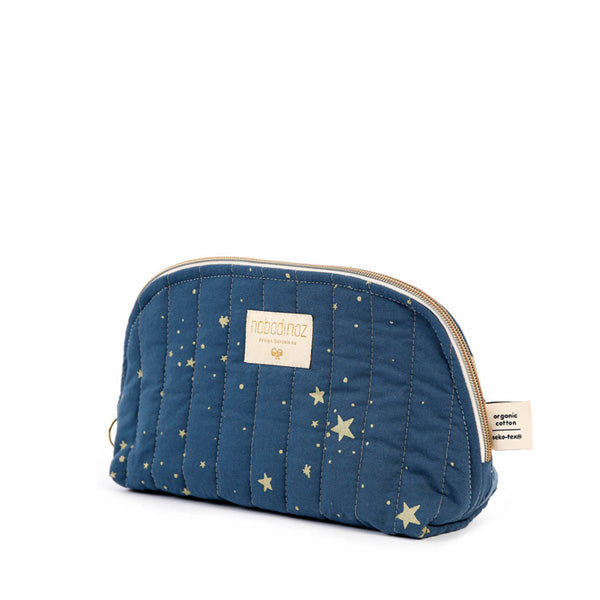Nobodinoz Holiday Vanity Case - Gold Stella / Night Blue