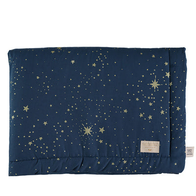 Nobodinoz Laponia Blanket – Gold Stella / Night Blue