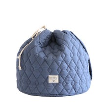 Nobodinoz Las Vegas Toy Bag - Aegean Blue