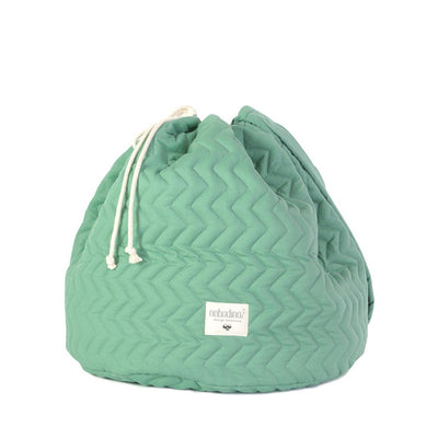 Nobodinoz Las Vegas Toy Bag - Siesta Green