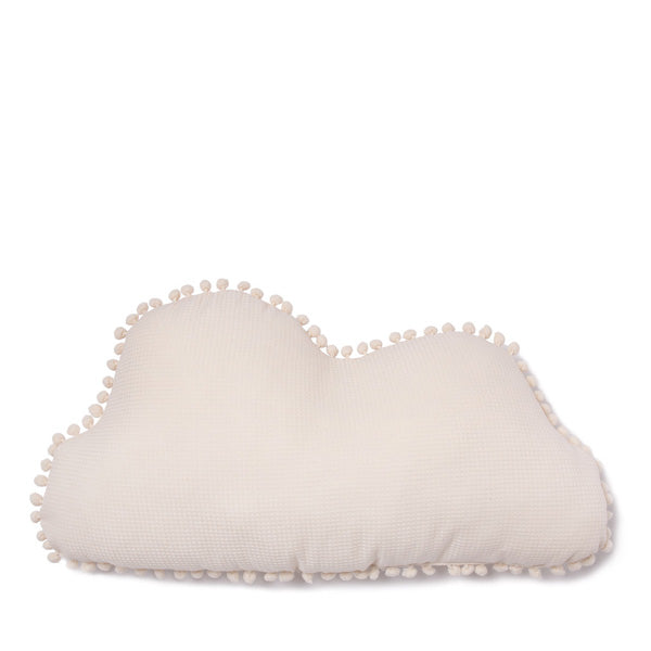 Nobodinoz Marshmallow Cloud Cushion – Natural