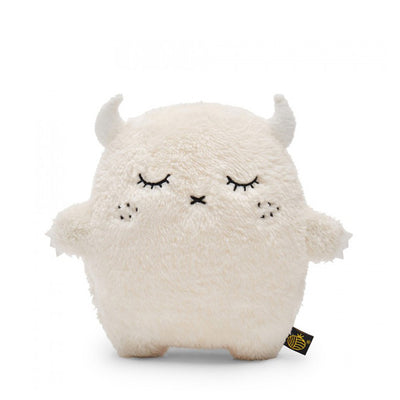 Noodoll Luxe Plush Toy - Ricepuffy - White
