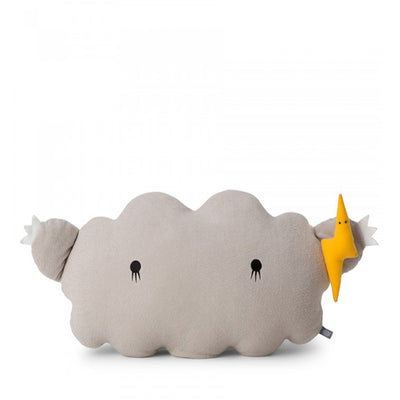 Noodoll Cushion - Ricestorm Grey Giant
