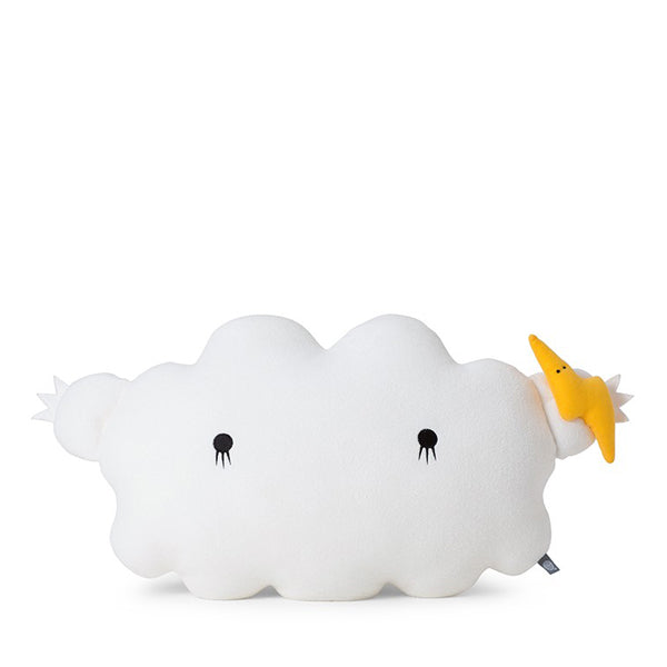 Noodoll Cushion - Ricestorm White Giant