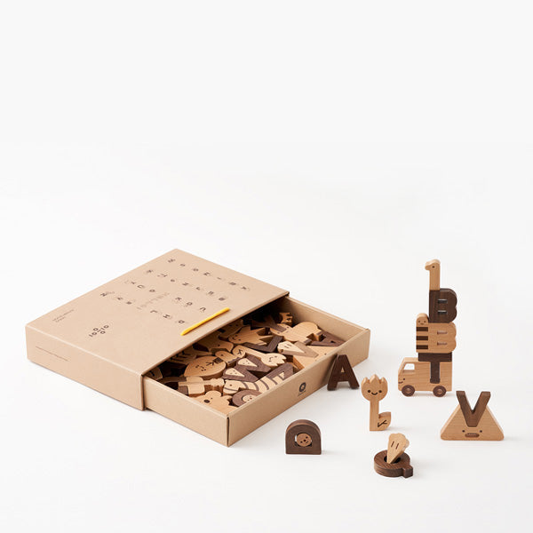 Oioiooi Alphabet Play Block Set