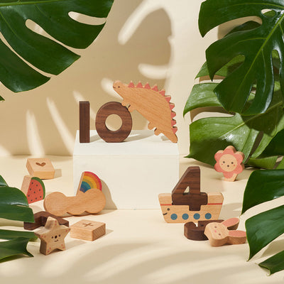 Oioiooi Play Block Set - Numbers