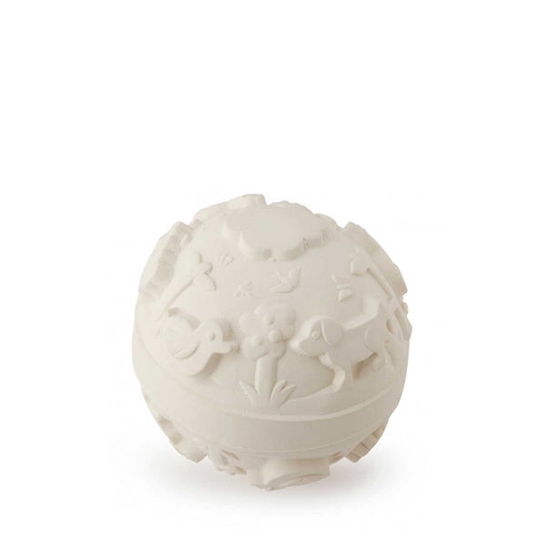 Oli and Carol Baby Ball – White