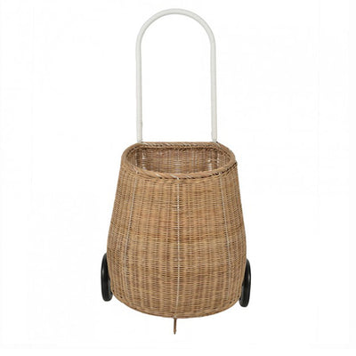 Olli Ella Big Luggy Basket - Natural