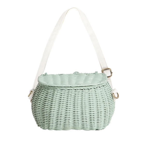 Olli Ella Mini Chari Bike Basket - Mint