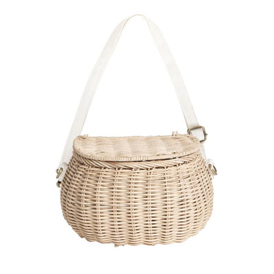 Olli Ella Mini Chari Bike Basket - Straw