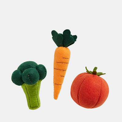 Olli Ella Felt Craft Set -Vegetable