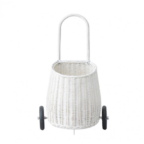 Olli Ella Luggy Basket – White