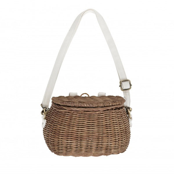 Olli Ella Mini Chari Bike Basket – Natural