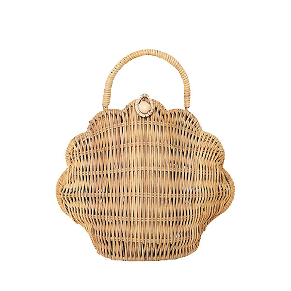 Olli Ella Shell Bag - Straw