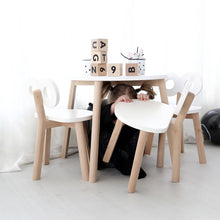 Ooh Noo Half-Moon Table – White