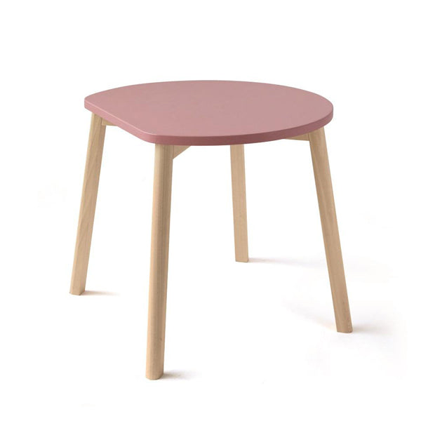 Ooh Noo Half-Moon Table - Pink