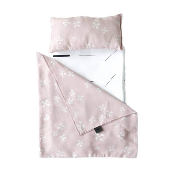 Ooh Noo Toy Pram Bedding – Blushing Blossoms