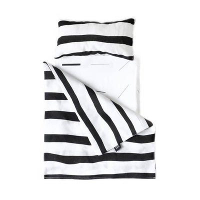 Ooh Noo Toy Pram Bedding - Zebra