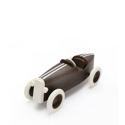 Ooh Noo Grand Prix Racing Car - Dark Brown