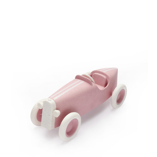 Ooh Noo Grand Prix Racing Car - Pale Pink