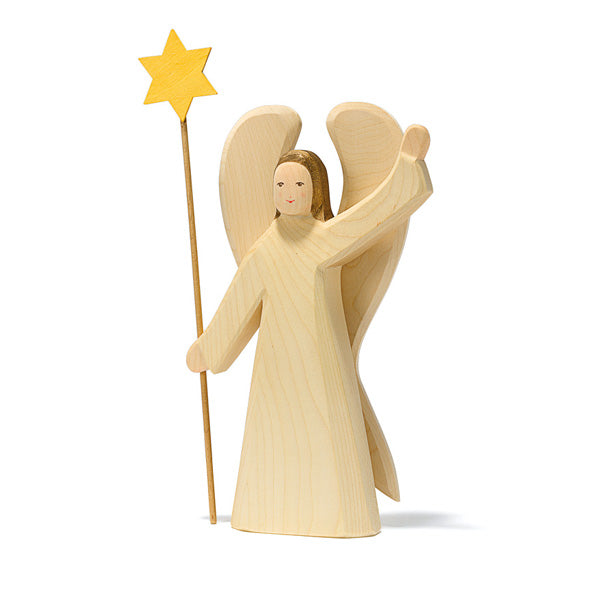 Ostheimer Angel with Star 2 Pieces - Large