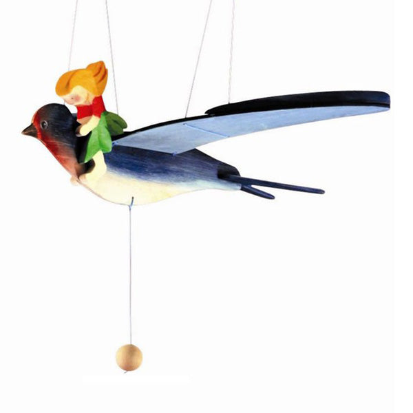 Ostheimer Mobile - Fairy Child with Swallow