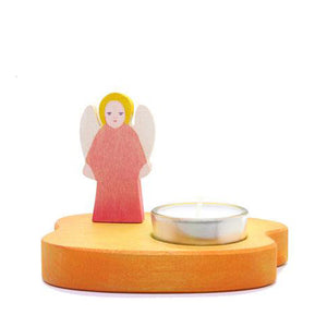 Ostheimer Candle Holder - Angel Red