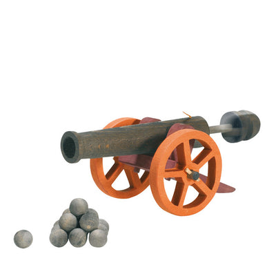 Ostheimer Cannon with Cannon Balls - Large