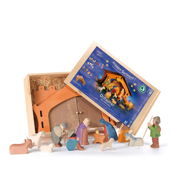 Ostheimer Nativity Assortment I - 13 pcs