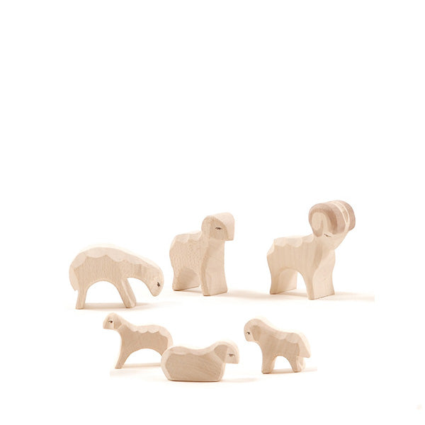 Ostheimer Sheep 6 Pieces - Small