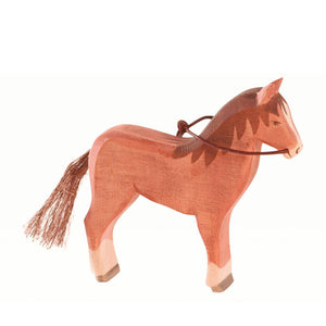 Ostheimer Horse - Brown (with bridle)