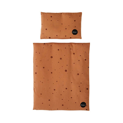 OYOY Doll Bed Bedding – Caramel