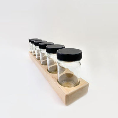 Wooden Paint Jar Holder (6x100ml)