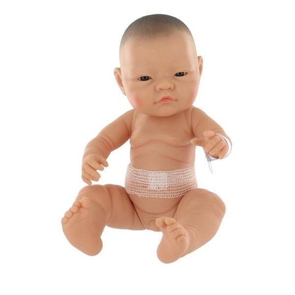 Paola Reina Newborn Doll - Bebitos Asian Boy