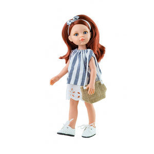 Cristi with ginger hair Paola Reina doll 32 sm