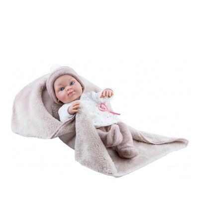 Paola Reina Doll - Mini Pikolines Girl with Blanket