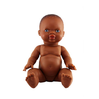 Paola Reina Baby Doll African – Girl / Blue Eyes