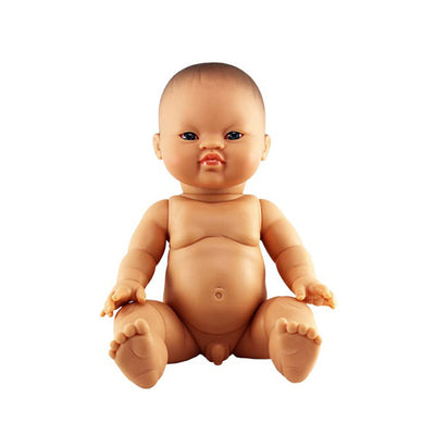 Paola Reina Baby Doll Asian – Boy / Blue Eyes