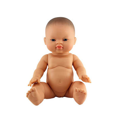 Paola Reina Baby Doll Asian – Girl / Blue Eyes