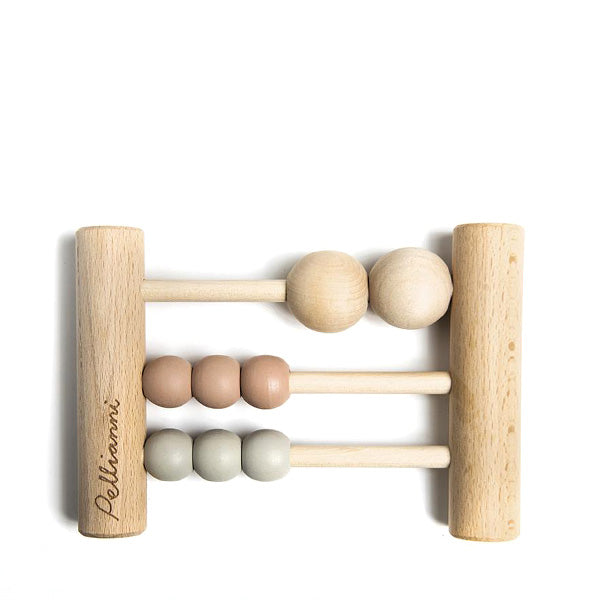 Pellianni Wooden Mini Abacus - Pastel