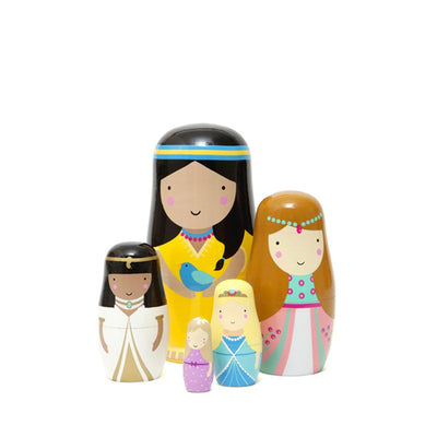 Petit Monkey Nesting Dolls - Princess