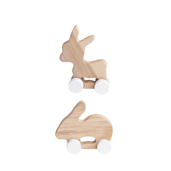 Pinch Toys Set of 2 – Donkey and Rabbit