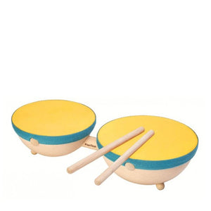 Plan Toys Double Drum