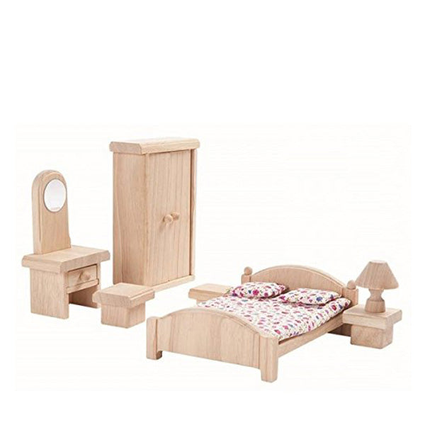 Plan Toys Doll House Bedroom - Classic