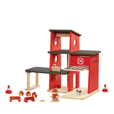 Plan Toys Fire Station